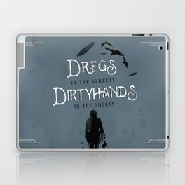 DREGS IN THE STREETS Laptop & iPad Skin