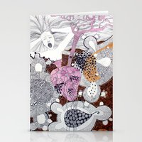 scream Stationery Cards featuring Scream by doviArt