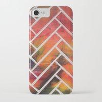 herringbone iPhone & iPod Cases featuring Herringbone by Alyssa Clancy