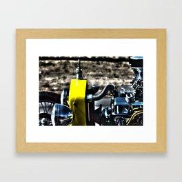 HDR Bucket Roadster Engine Framed Art Print