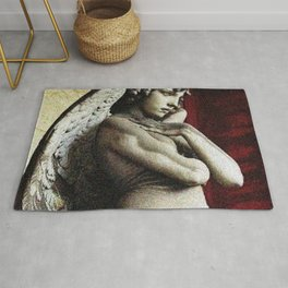 The Oneto Families' Angel of the Resurrection Portrait by Jeanpaul Ferro Rug