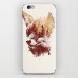 Blind fox iPhone Skin