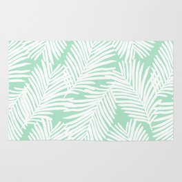 Areca Palm minimal tropical house plants minimalism art print zen chill decor Rug