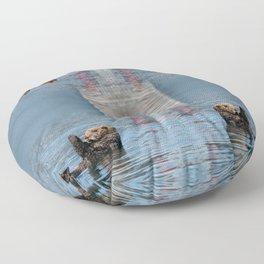 Sea Otter I - Kachemak Bay, Alaska Floor Pillow