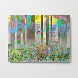 The Tale of the Bamboo Cutter Metal Print