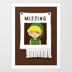 Missing Link Art Print