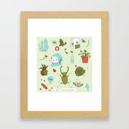 IWA CHAN Framed Art Print