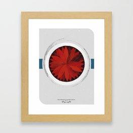 Unemployment - Dead Friends (Record Release Design#2) Framed Art Print