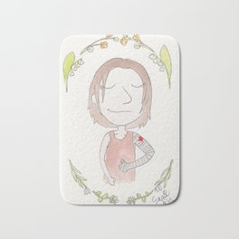 Everything's Going To Be Okay, Bucky Bath Mat
