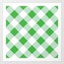 Gingham - Green by dizanadesigns
