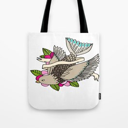 The world is a small place after all. Tote Bag