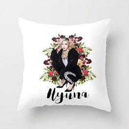 Bad Gal Hyuna Throw Pillow