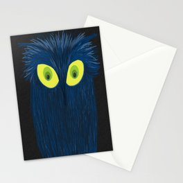 The Blue Owl Stationery Cards