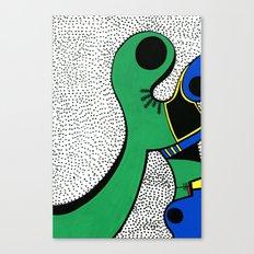 Print #6 Canvas Print