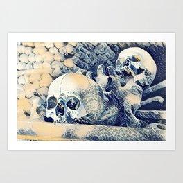 Church of Bones Art Print