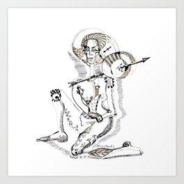 Sagittarius - The arrow of life Art Print