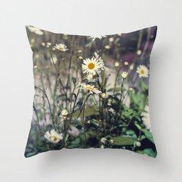Daisy IV Throw Pillow
