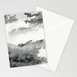 clouds_december Stationery Cards