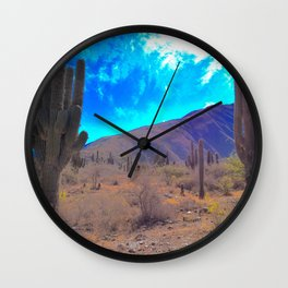 Carnegiea gigantea Wall Clock
