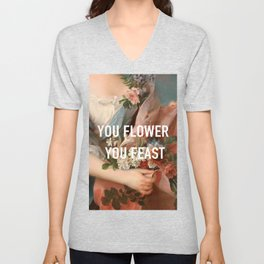woman by harry styles Unisex V-Neck