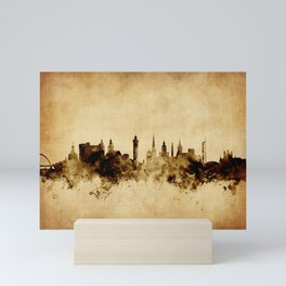 Glasgow Scotland Skyline Mini Art Print