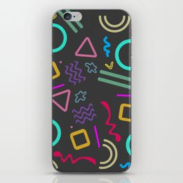 Back to the 80's iPhone Skin