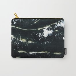 Black Scarf Design Carry-All Pouch