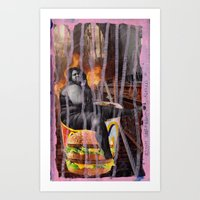 mac Art Prints featuring Big Mac by Ibbanez