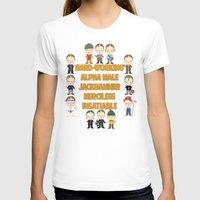 dwight schrute T-shirts featuring Dwight Schrute Two Words by Alex Dutton