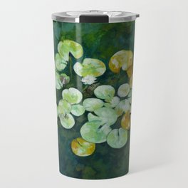 Tranquil lily pond Travel Mug