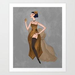 Miss Fisher Art Print