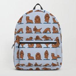 Cocker Spaniel  Yoga Backpack