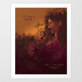 Angelica Schuyler - Hamilton Art Print