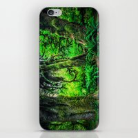 giants iPhone & iPod Skins featuring Mossy Giants by JMcCool