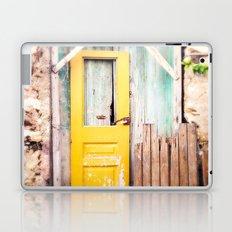 Yellow Door  Laptop & iPad Skin