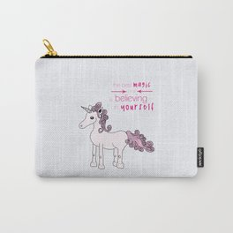 Unicorn Believes Carry-All Pouch