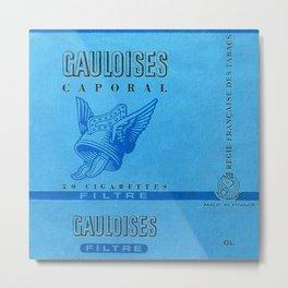 Gauloises - Vintage Cigarette Metal Print