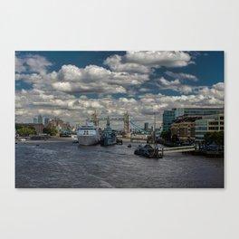 London's The Thames Canvas Print