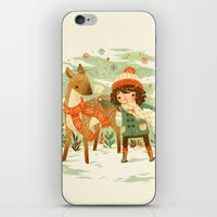 jon snow iPhone & iPod Skins featuring A Wobbly Pair by Teagan White