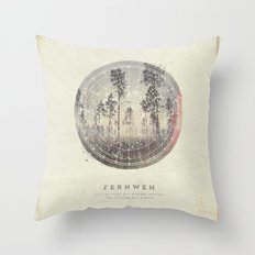 Fernweh Vol 4 Throw Pillow