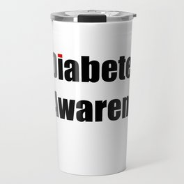 Diabetes Awareness Travel Mug
