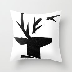Untitled #1 Throw Pillow