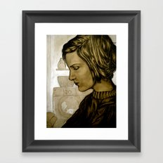 Stain Removal Framed Art Print
