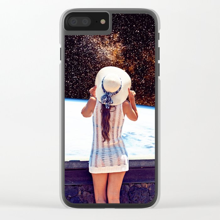 Wondering Clear iPhone Case