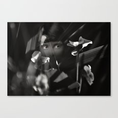 Shrinking Violet Canvas Print