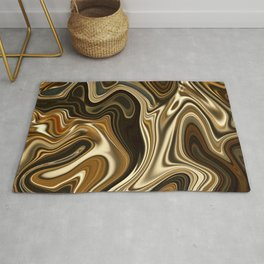 Mont Blanc -Gorgeous Marble Style- Rug