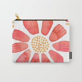 RED YELLOW FLOWER Carry-All Pouch