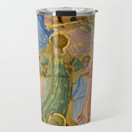 """Fra Angelico (Guido di Pietro) """"The Dormition and Assumption of the Virgin"""" (6) Travel Mug"""