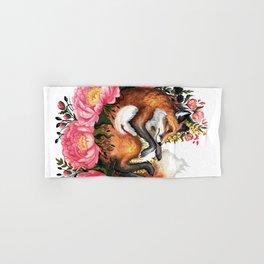 Flora and Fauna Fox Hand & Bath Towel