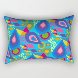 Pointed Conversation  Rectangular Pillow